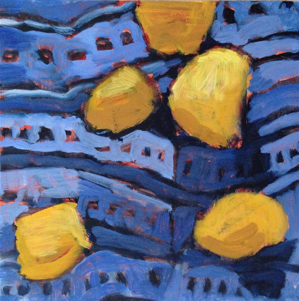 """Couch Potatoes"" original fine art by Pamela Hoffmeister"