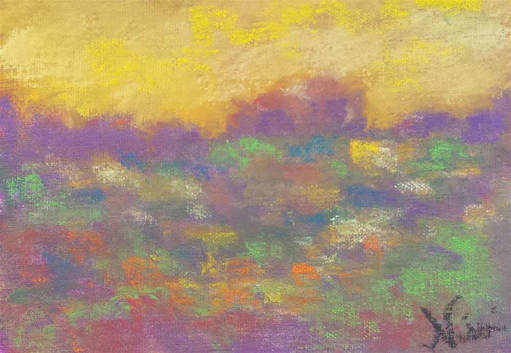 """Colors and Light"" original fine art by Niki Hilsabeck"