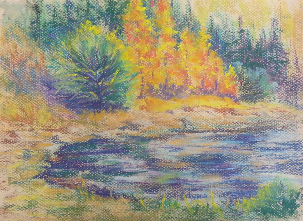 """Lost Lake Lunch"" original fine art by Becky Chappell"