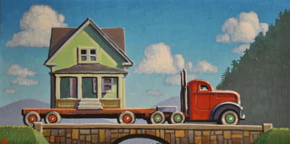 """Greener Grass"" original fine art by Robert LaDuke"