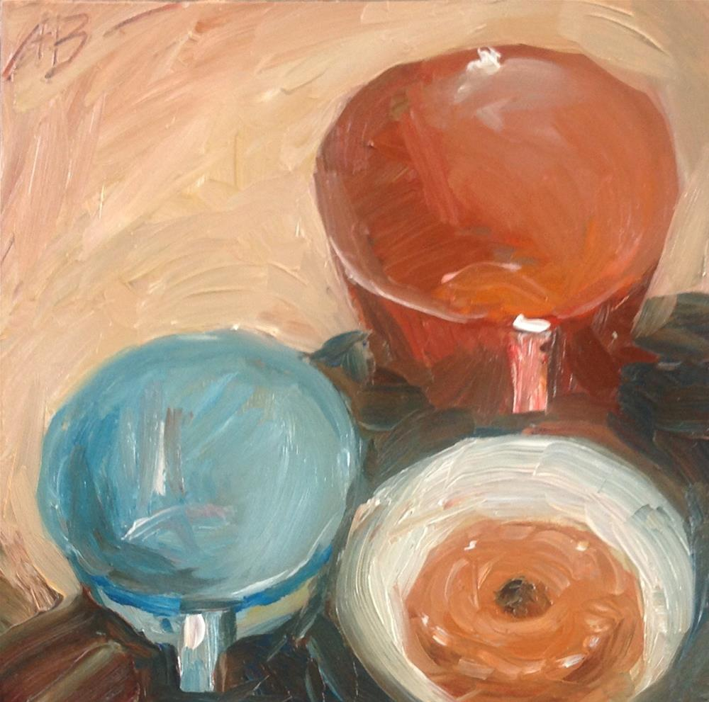 """The Last Doughnut"" original fine art by Annette Balesteri"
