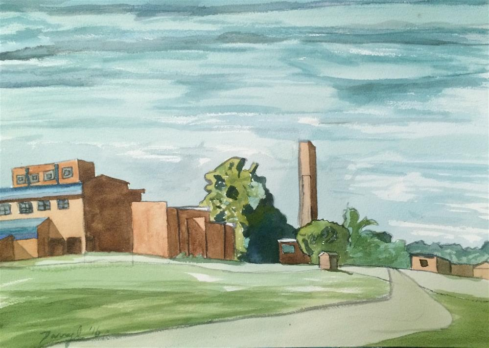 """McCallum"" original fine art by Darryl Freeman"