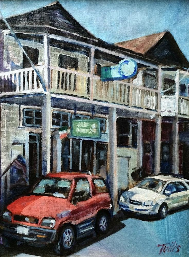"""Delta Chinatown"" original fine art by John Tullis"
