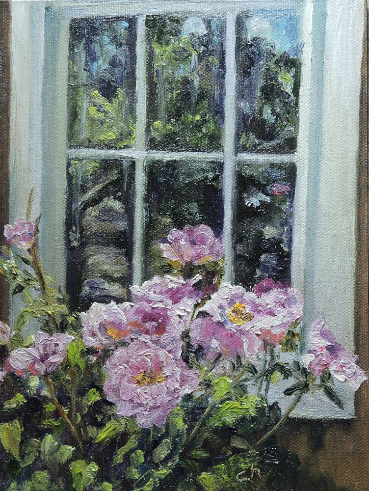 """Southwest Window II"" original fine art by Candi Hogan"