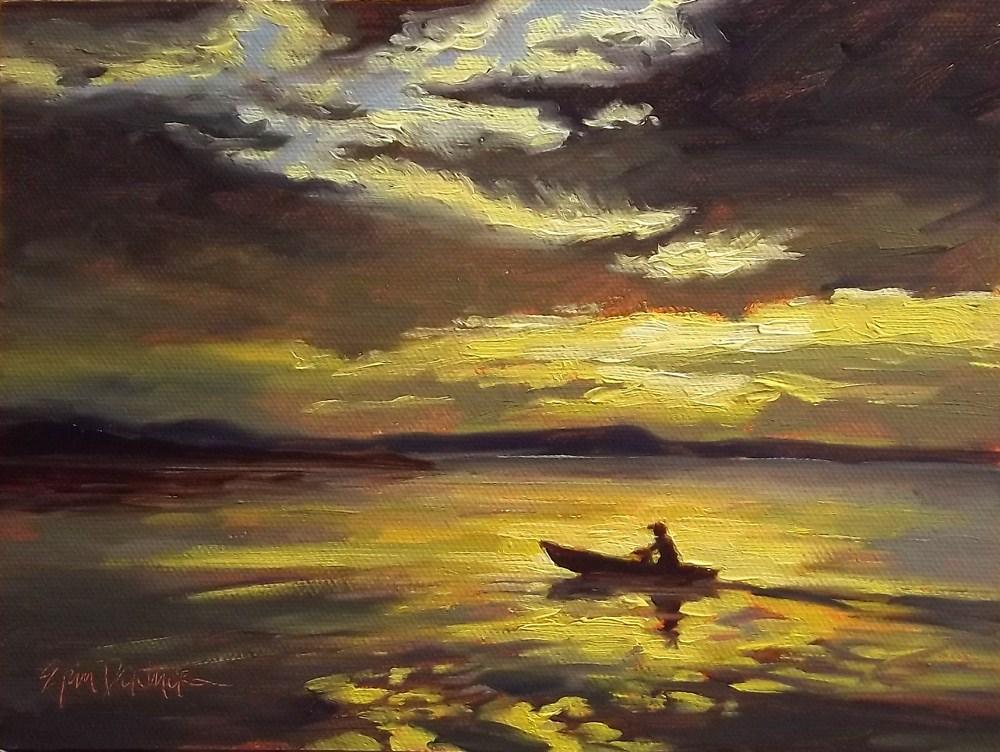 """After the Storm"" original fine art by Erin Dertner"