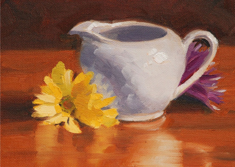 """Still LIfe #4"" original fine art by Susan McManamen"