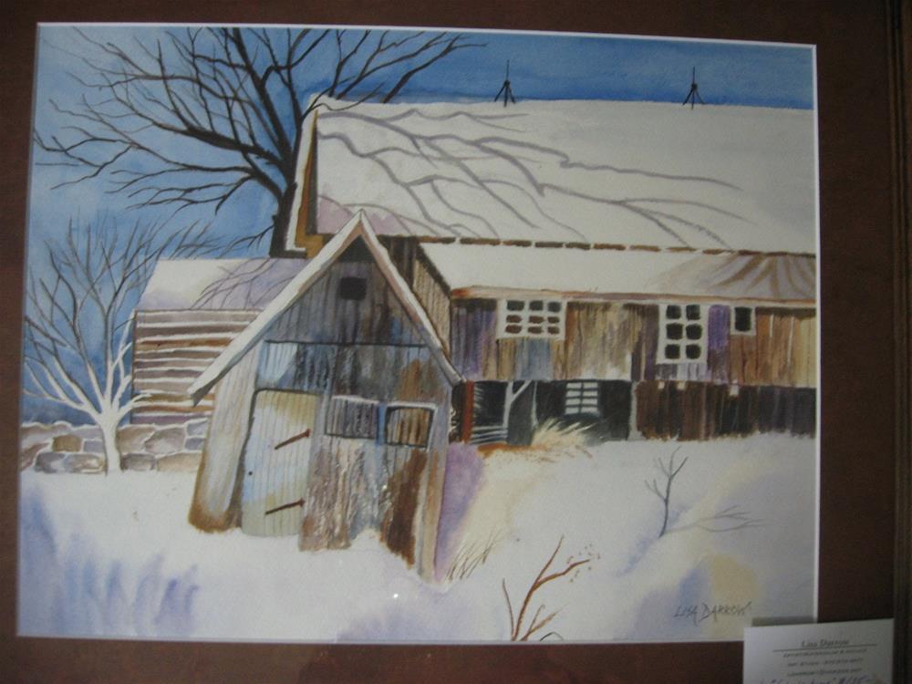 """WINTER TIME"" original fine art by Lisa Darrow"