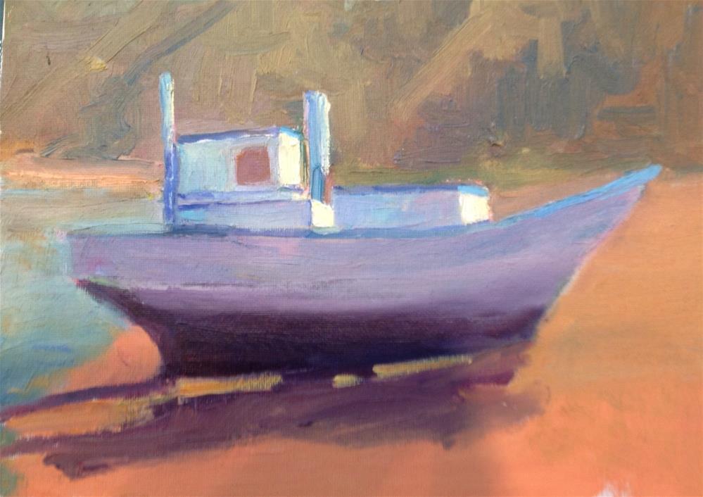 """""""Abandoned"""" original fine art by Marcia Bergtholdt"""