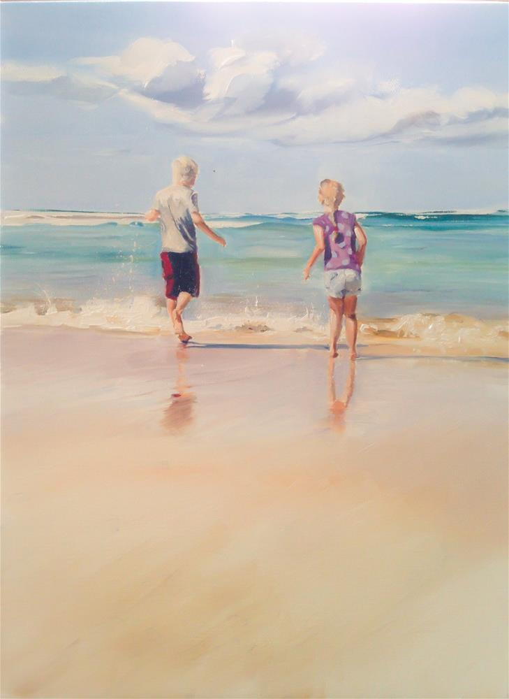"""The Sea, The Sea"" original fine art by James Coates"