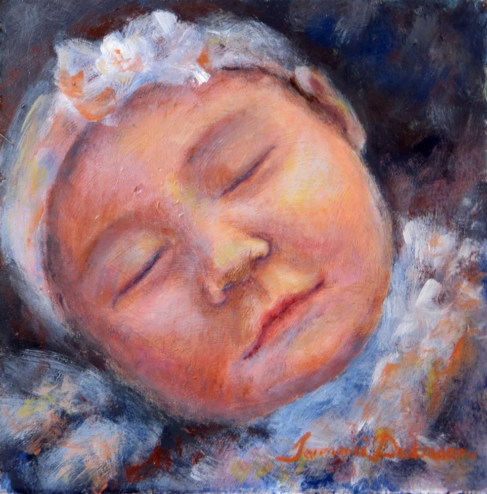 """Sweet Dreams"" original fine art by Tammie Dickerson"