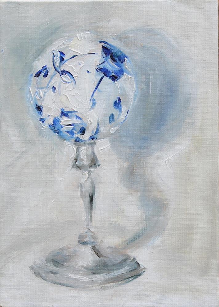 """""""Dancing Shadow"""" original fine art by Karen Solorzano"""