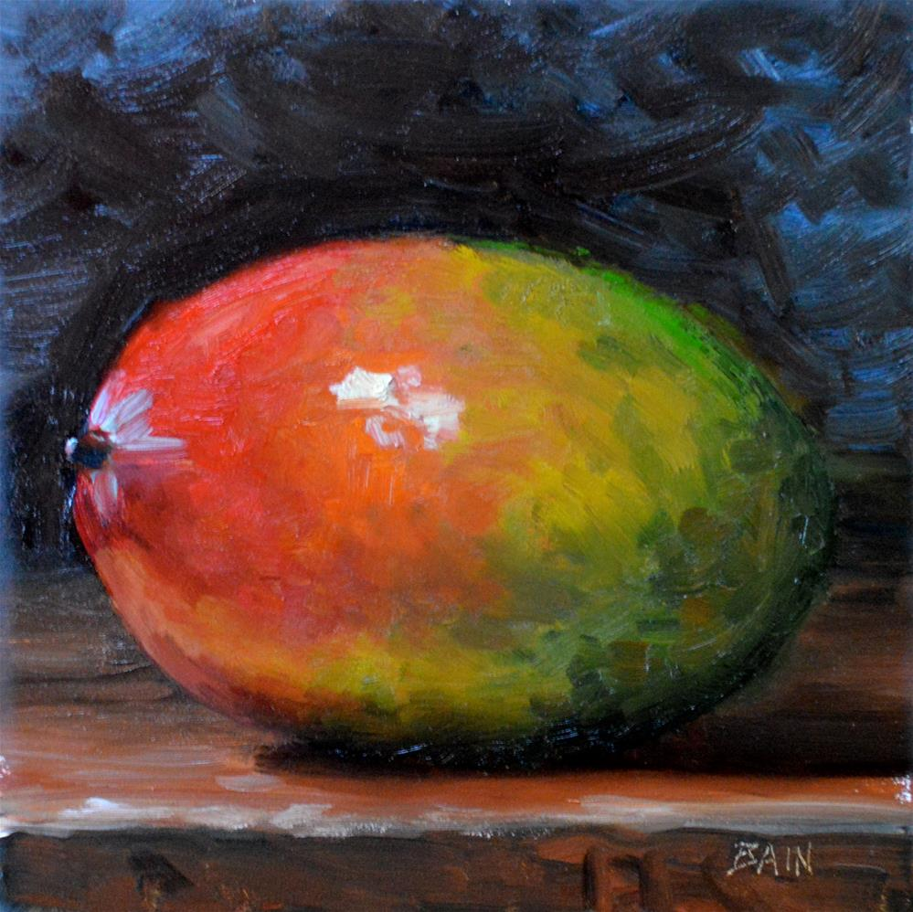 """Mango"" original fine art by Peter Bain"