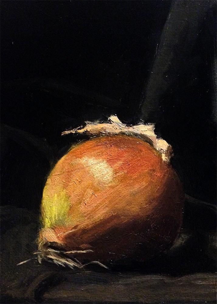 """Simple Onion"" original fine art by Chris Beaven"