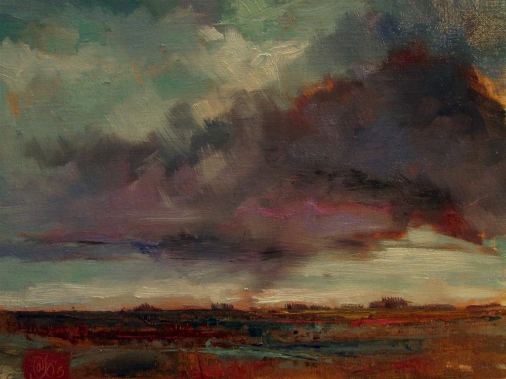 """Murmur to the Marsh"" original fine art by Aurelio Saiz"