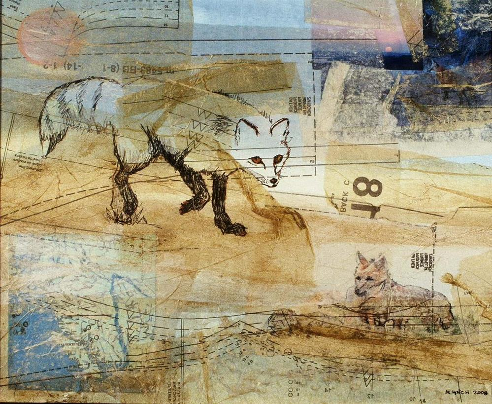 """Fox"" original fine art by Marie Lynch"