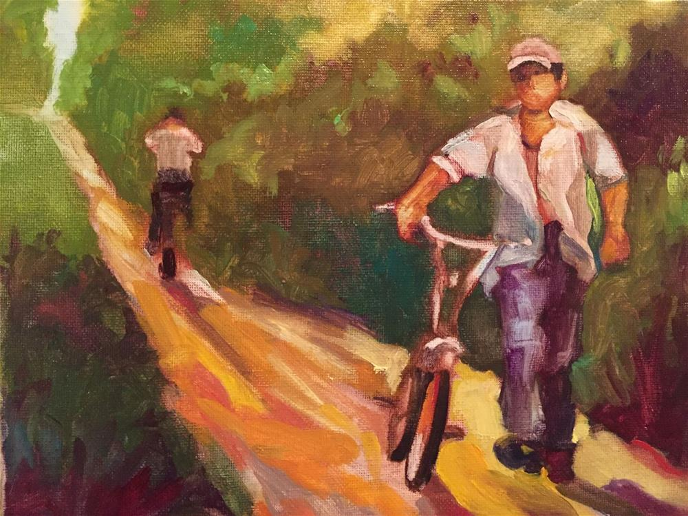 """Passing, Honduras"" original fine art by Kathleen Redmer"