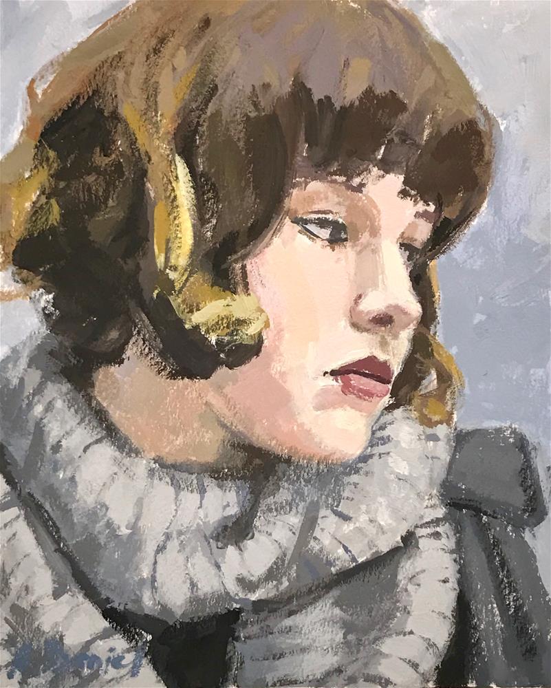 """Grey "" original fine art by Andrew Daniel"
