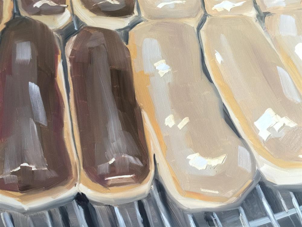 """317 Maple Bars"" original fine art by Jenny Doh"