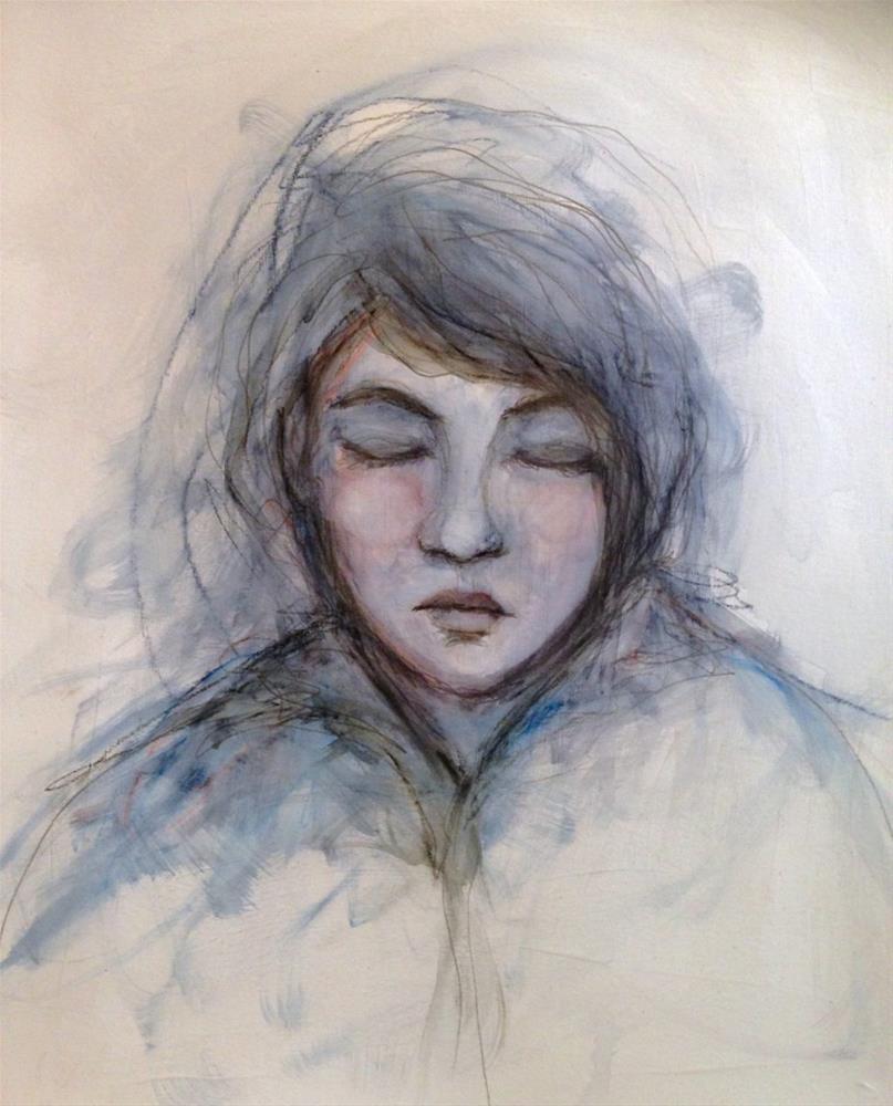 """Self-Portrait"" original fine art by Roberta Schmidt"