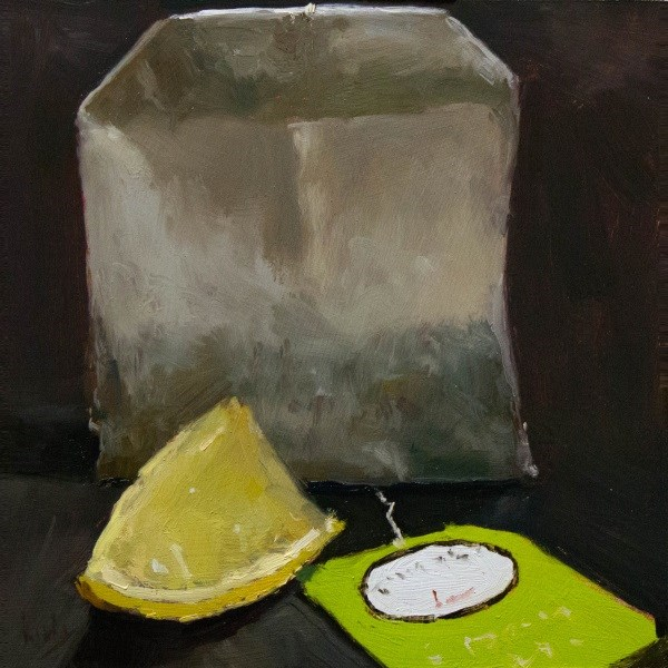 """Lemon and Tea"" original fine art by Randall Cogburn"