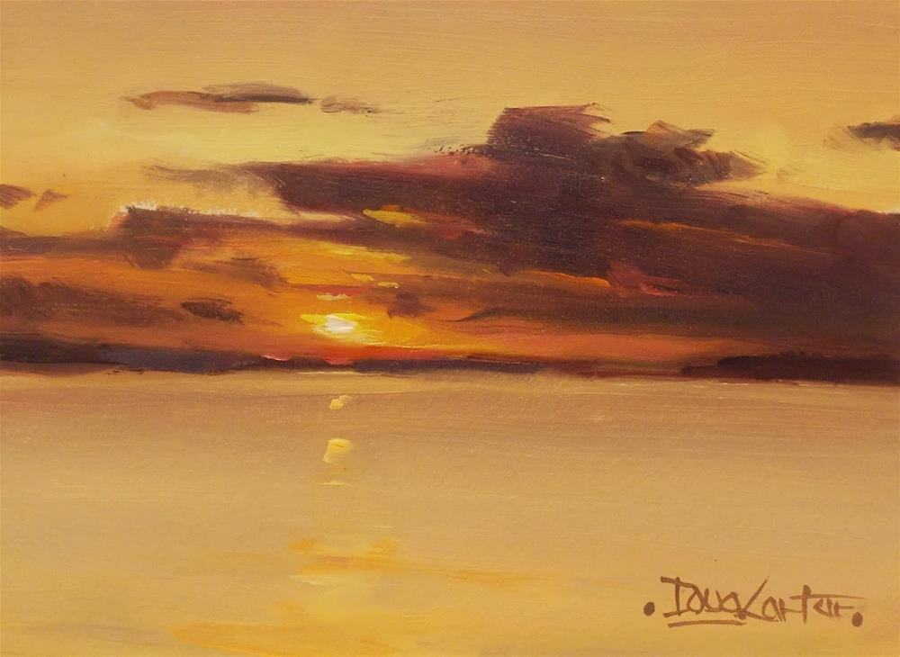 """DAWNS"" original fine art by Doug Carter"