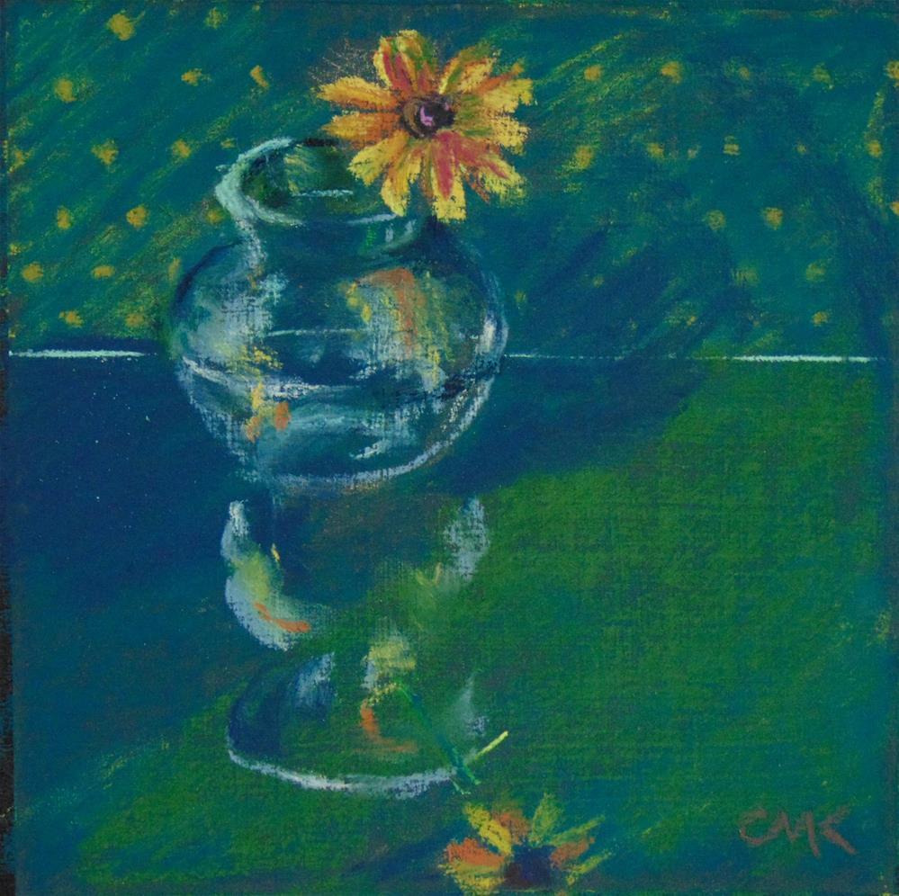 """Reflective Susan"" original fine art by Catherine Kauffman"