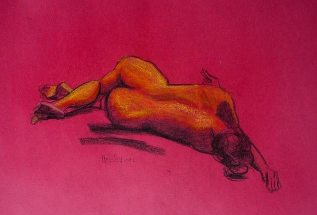 """""""Kimberley"""" original fine art by Haze Long"""