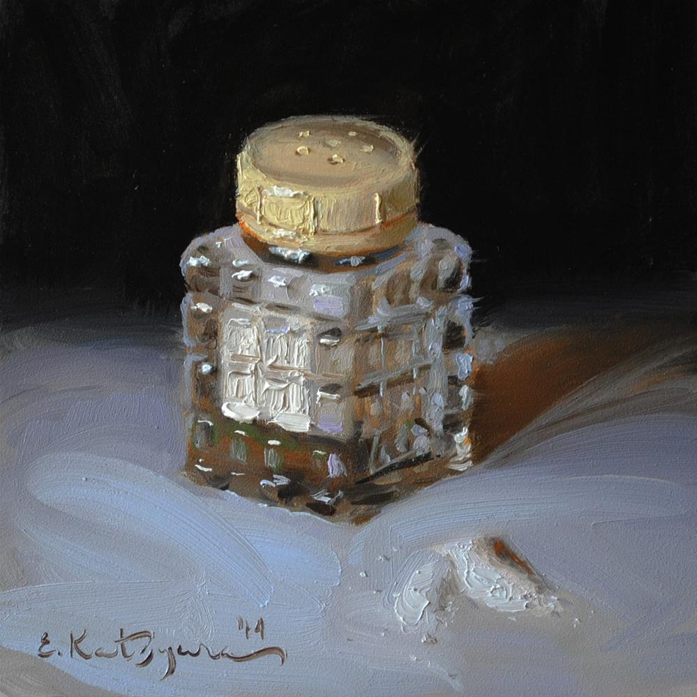 """Salt Shaker"" original fine art by Elena Katsyura"