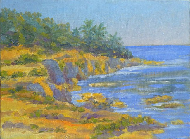 """Mountain View Hawaii"" original fine art by Stan Chraminski"
