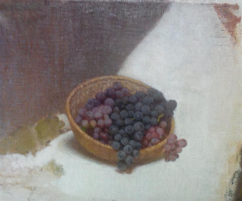 """Grapes"" original fine art by Nathan Sowa"