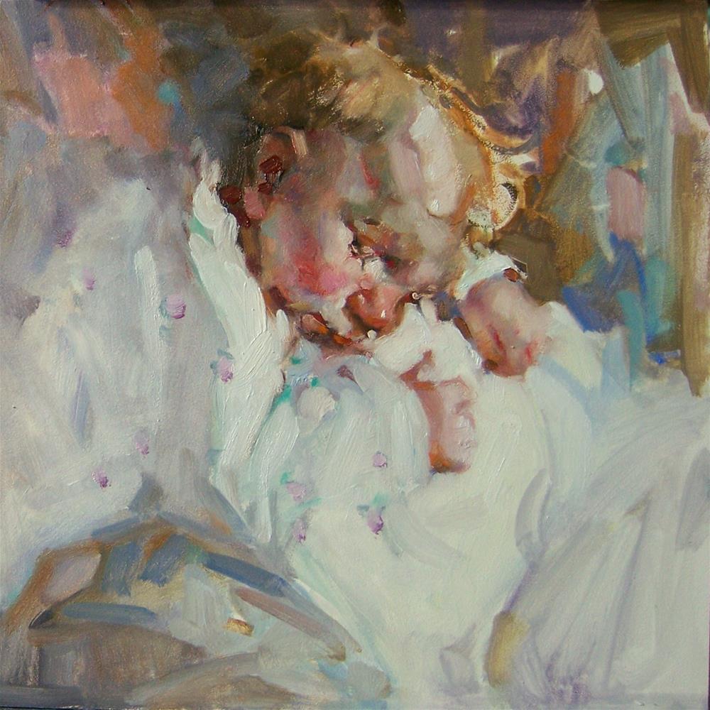 """Petit Fleur"" original fine art by Kim Roberti"