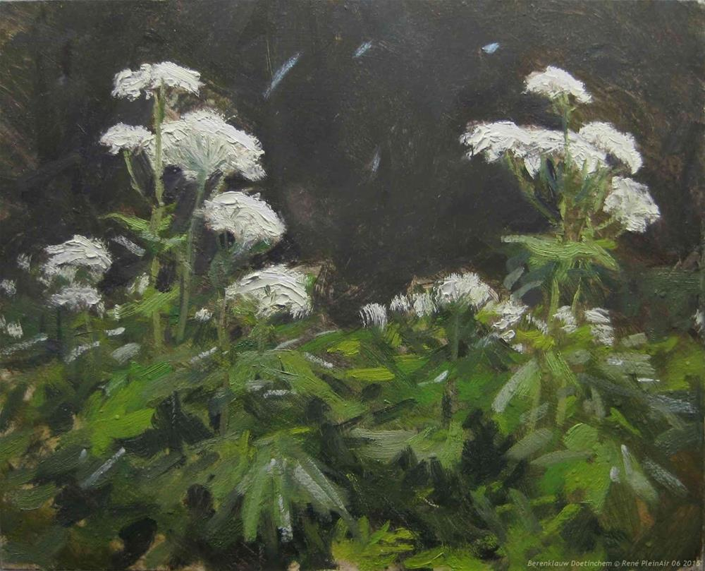 """Giant Hogweed. Doetinchem, the Netherlands"" original fine art by René PleinAir"