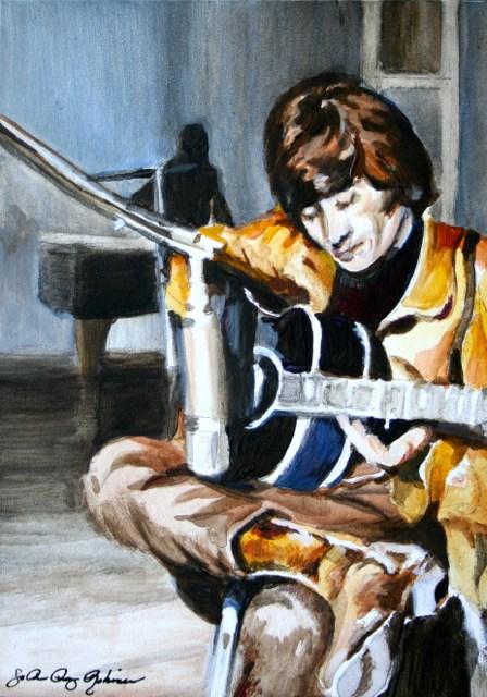 """John"" original fine art by JoAnne Perez Robinson"