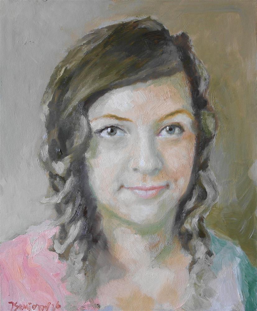 """Tanya"" original fine art by Yuriy Semyonov"