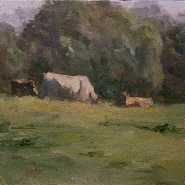 """Open Field"" original fine art by Randall Cogburn"