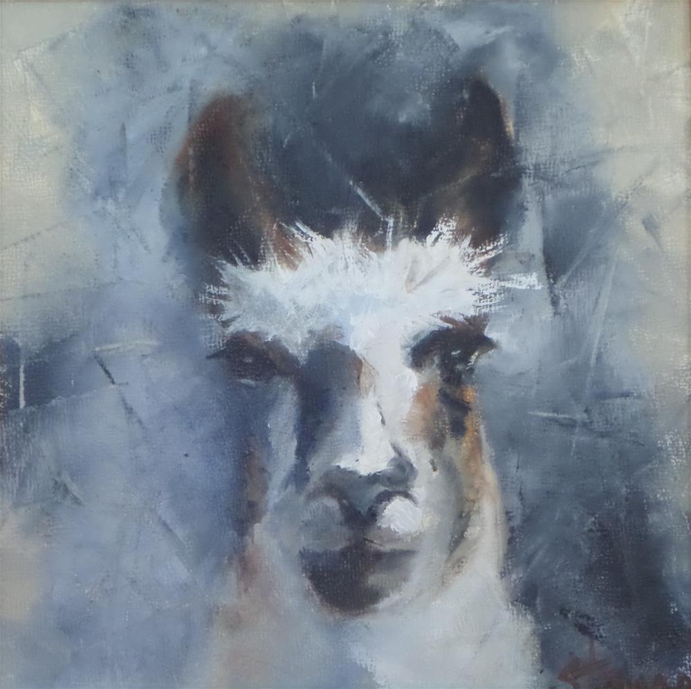 """SHERMAN"" original fine art by Kris Stewart"