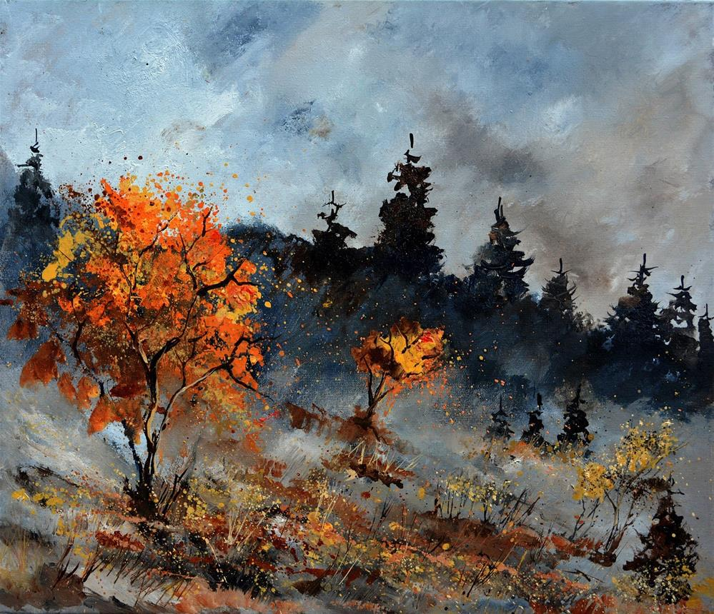 """Autumn 7651012"" original fine art by Pol Ledent"