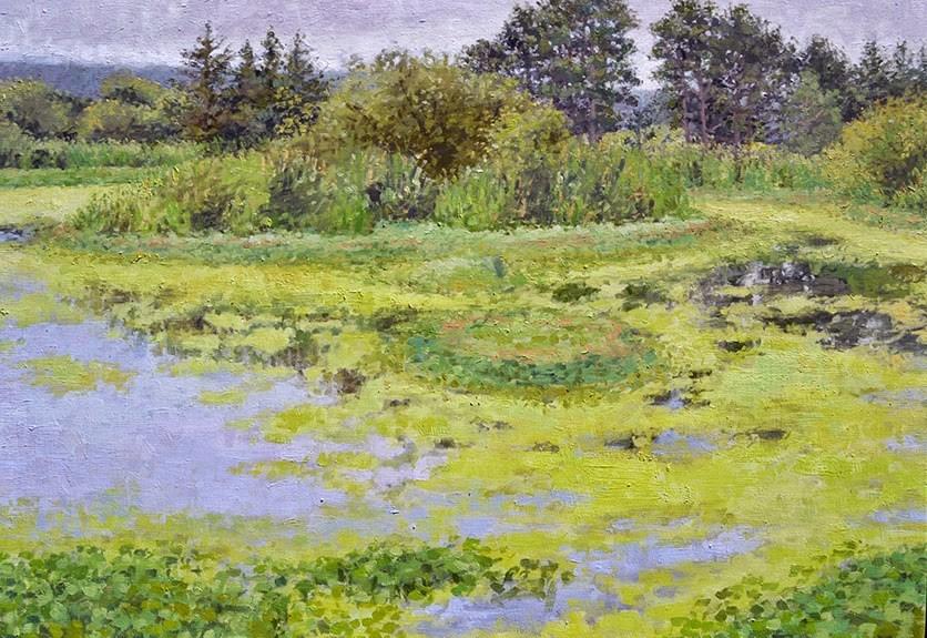 """Marsh Island"" original fine art by Andrew Daniel"