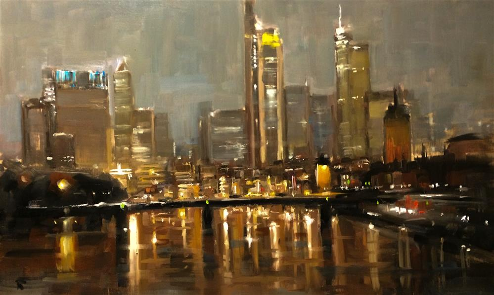 """Frankfurt Project 4"" original fine art by Thomas Ruckstuhl"