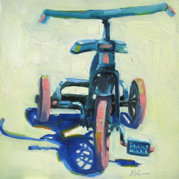"""CARIBBEAN CRUISE"" original fine art by Mb Warner"