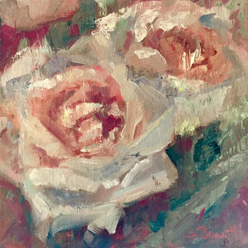 """Shades Of Pink"" original fine art by Sherri Burritt"