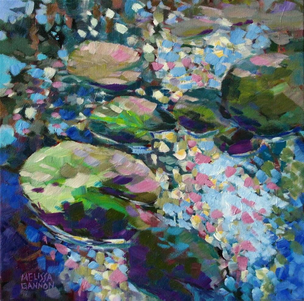 """Lilypad Music"" original fine art by Melissa Gannon"