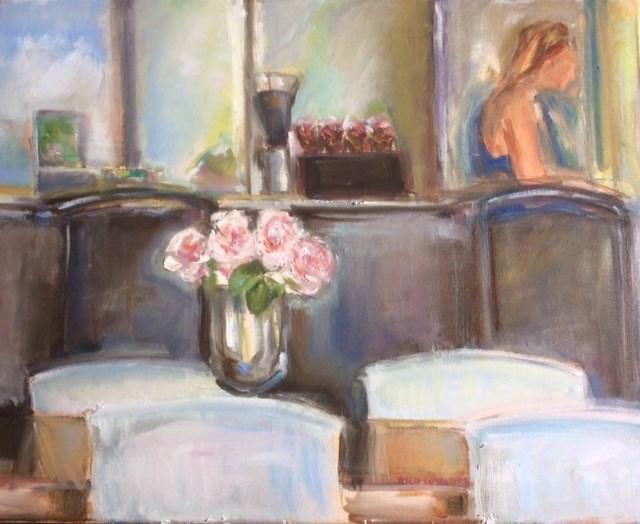 """""""Mis en Place"""" original fine art by Thea Lombaard"""