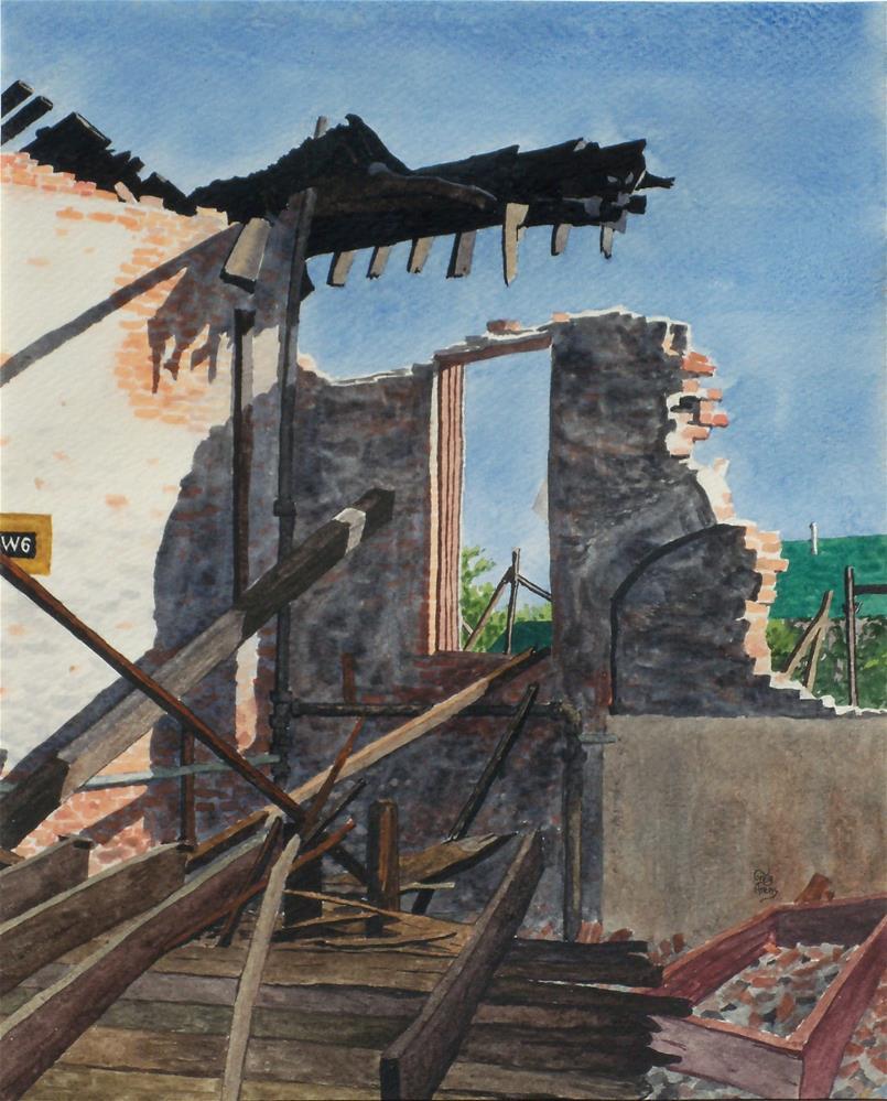 """Industrial Heritage"" original fine art by Greg Arens"