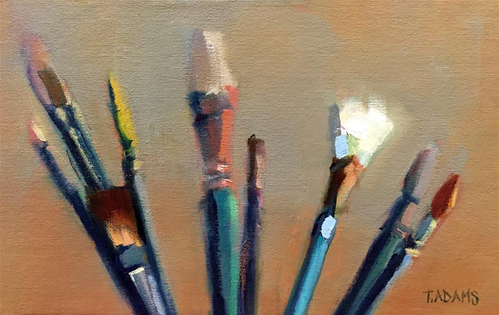 """Tools of the Trade"" original fine art by Trisha Adams"