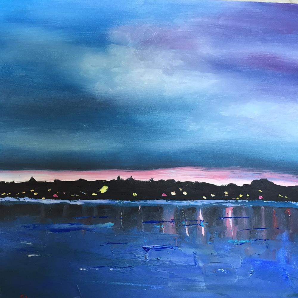 """Riverview"" original fine art by Rose Brenner"