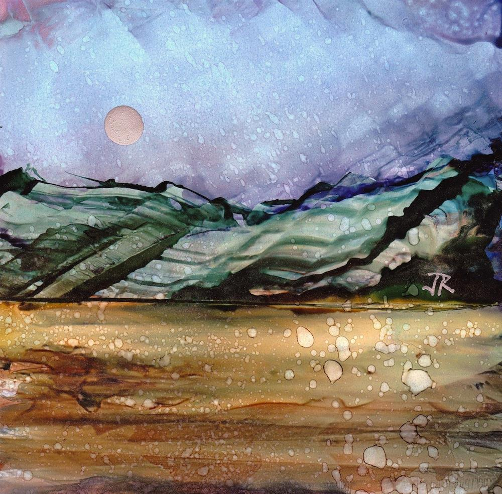 """Dreamscape No. 460"" original fine art by June Rollins"
