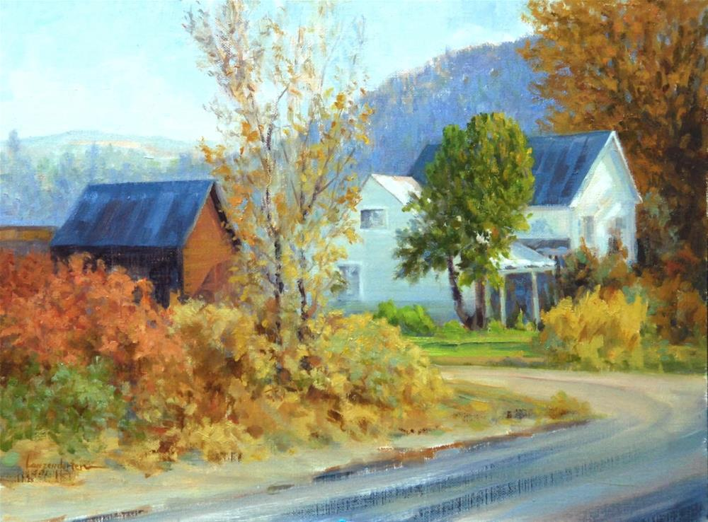 """SIERRA VALLEY FARM"" original fine art by Dj Lanzendorfer"