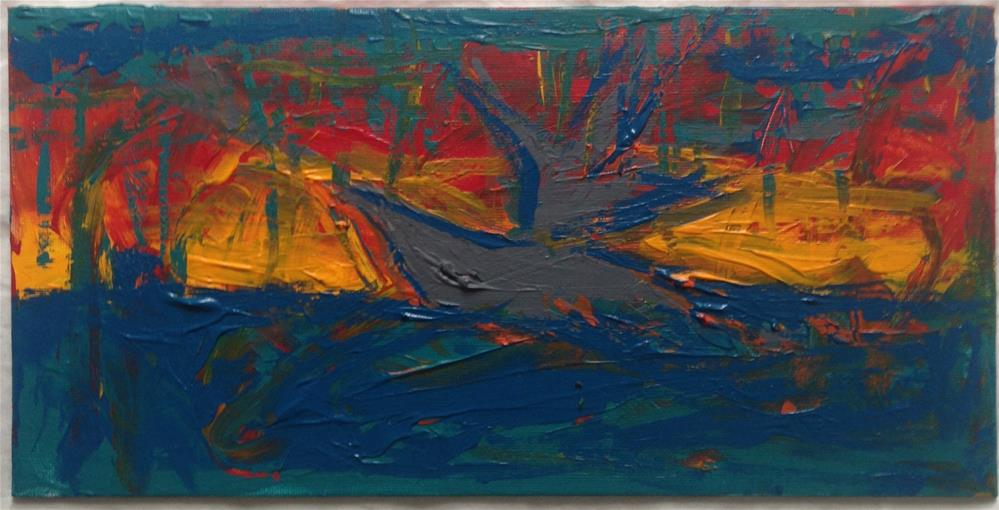 """Ship at Storm"" original fine art by Ellis Charles Hoffmeister"