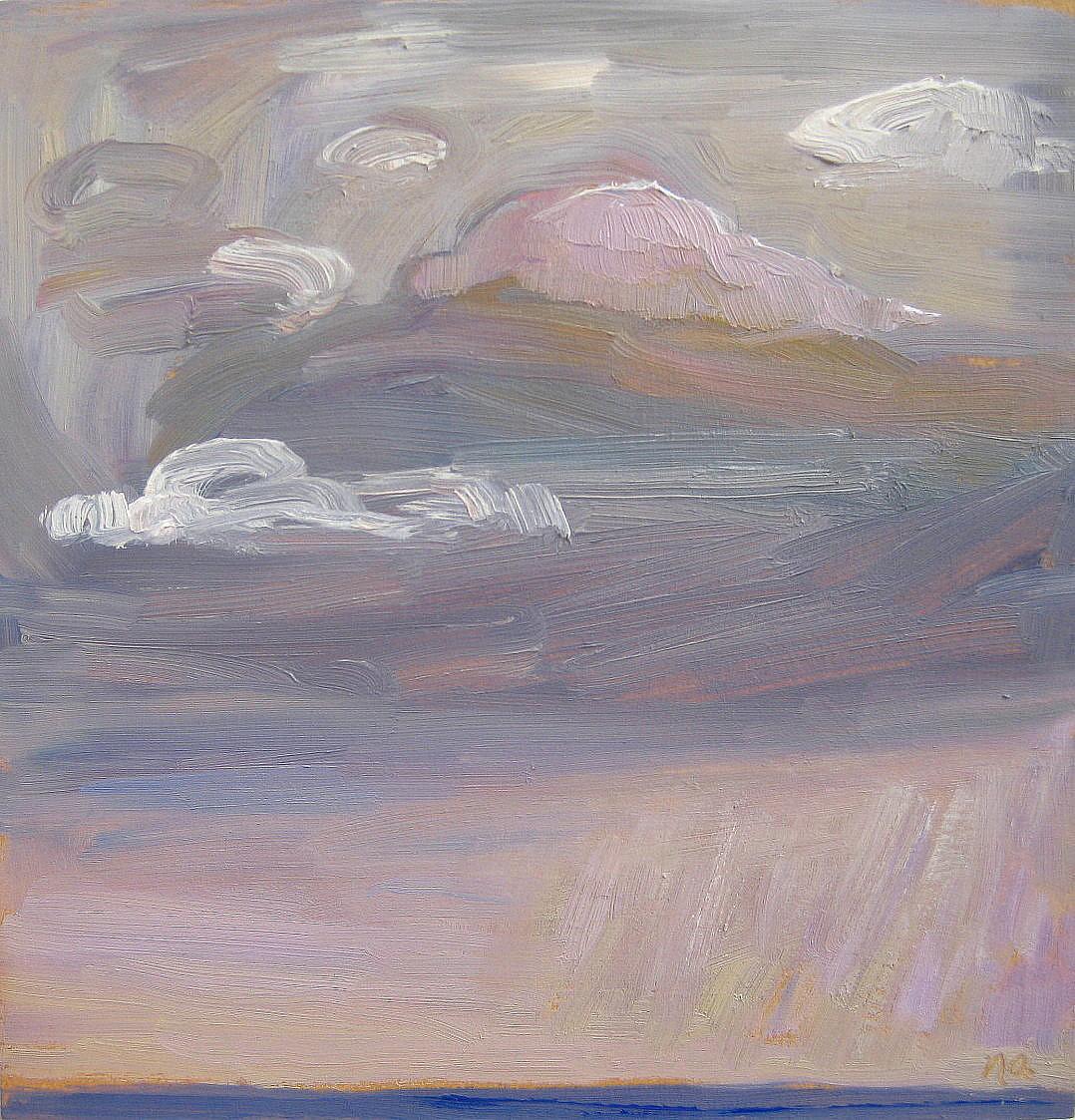 Quirk: An Experimental Sky original fine art by Nicki Ault